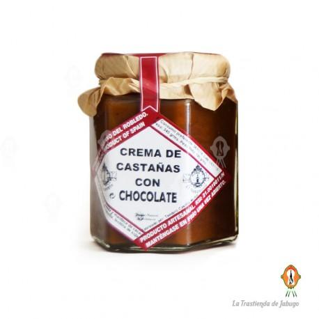 Crema de Castañas con chocolate