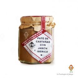 PATÉ DE CASTAÑAS CON JAMÓN IBÉRICO