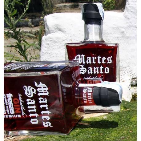 "Ginebra ""Martes santo"" Tridestilada Premium Frutos Rojos"