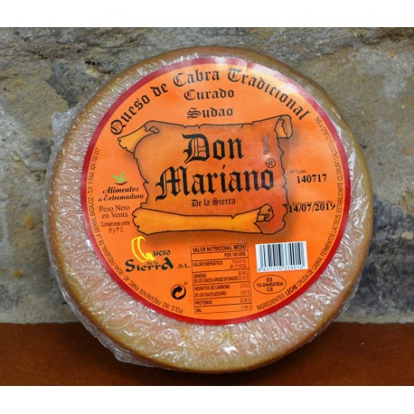 "Queso de Cabra ""Don Mariano"""